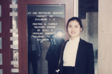 Grand Opening Ceremony of Viet Huong 1995