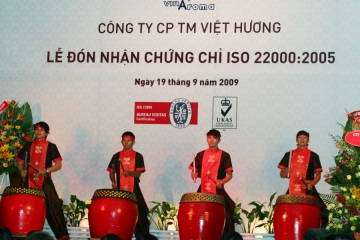ISO 22000: 2005 CERTIFICATION CEREMONY