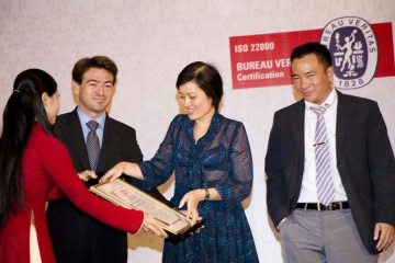 IISO 22000: 2005 CERTIFICATION CEREMONY