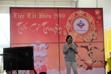 General Director Ms Nguyen Thuy Quynh had a meaningful speech